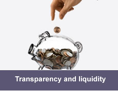 Transparency and liquidity