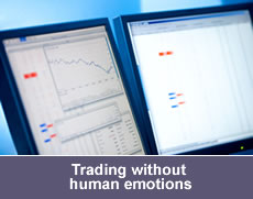 Trading without human emotions