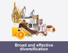 Broad and effective diversification